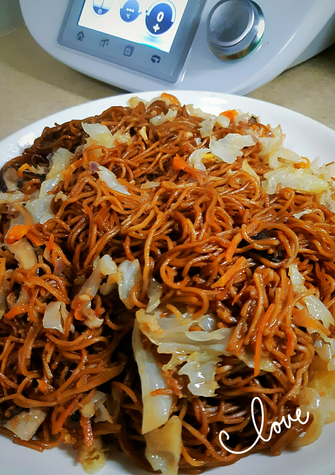 Fried Ee Fu Noodles Thermomix